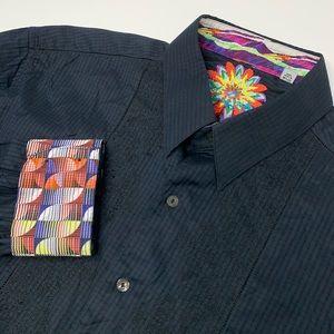 Robert Graham Long Sleeve Colorful Flip Cuff Shirt
